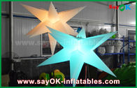 China Durable  Inflatable Lighting Decoration , Inflatable Star With Led Light factory