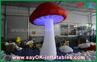 China Big Red and White Inflatable Lighting Decoration For Party / Event factory