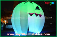 Good Quality Inflatable Air Tent & Cute Inflatable Holiday Decorations Lighting Ghost Door / Large Inflatable Pumpkin on sale
