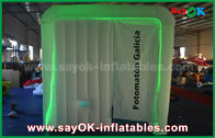 China 2.3*2*2.2m Inflatable Photo Booth with LED lighting , CE / Ul Standard Air Blower factory