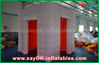 China LED Lighting Inflatable Photo Booth With 2 Doors / Inflatable Tent factory
