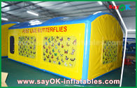 China Large PVC Butterfly Inflatable House Tent For Teaching / Blow Up Camping Tent factory