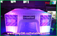 China Dome Inflatable Air Tent for Camping , Giant Bubble Led Party Tent factory