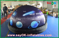 China ROHS Full Print With Start Inflatable Planetarium Dome Tent For Movie Projection factory