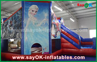 China Fairy Tale Theme Snow Kids Inflatable Bounce / Blow Up Bounce House factory
