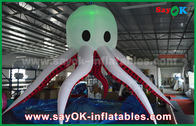 China Tentacle Hanging Led Giant Inflatable Octopus Energy Saving Multi-Color factory