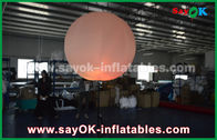 China Nylon Cloth Inflatable Lighting Decoration / Halogen Or Led Light Up Balloons factory