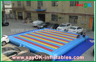 China 0.55mm PVC Inflatable Mat Bouncer For Children Playing Sports Game factory