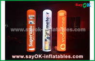 China 2m advertising inflatable pillar with LED lighting for decoration factory