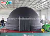 China 5m Diameter Black	Oxford Cloth Inflatable Planetarium Dome Tent for Sale factory