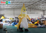 China 3m Inflatable Banana Mascot For Outdoor Advertising CE SGS ROHS factory