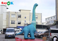 China 7m H Giant Inflatable Dinosaur Model With Air Blower For Exhibition factory