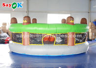 China Funny Inflatable Sports Games / Inflatable Human Whack A Mole With Air Blower factory