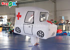 China Giant Custom Inflatable Products  Ambulance Model For Promotion factory