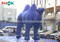 China Dark Blue  Inflatable Cartoon Characters For Outdoor Advertisement  /  Giant Inflatable Camel factory