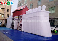 China ROHS Custom Inflatable Products  ,  Commercial LED Inflatable Rock Wall For Outdoor Display factory