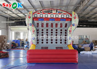 China Amusement Inflatable Sports Games Basketball Target Shooting Game factory