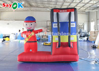 China 2m Inflatable Gas Station Cartoon Characters for Advertising Commercial Use factory