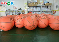 China Outdoor Event SGS Inflatable Helium Flying Basketball company