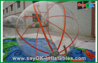 China Summer Transparent Inflatable Water Poll Ball Water Games Hamster Ball For Humans factory