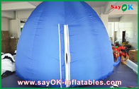 China Blue 5m Oxford Cloth Inflatable Planetarium Projection Dome for Astronomy factory