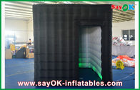 China Fire-proof Inflatable Photo Booth , LED Lights Inflatable Photobooth Kiosk factory