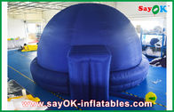 China Black Inflatable Planetarium Dome Projection Cloth For Teaching factory
