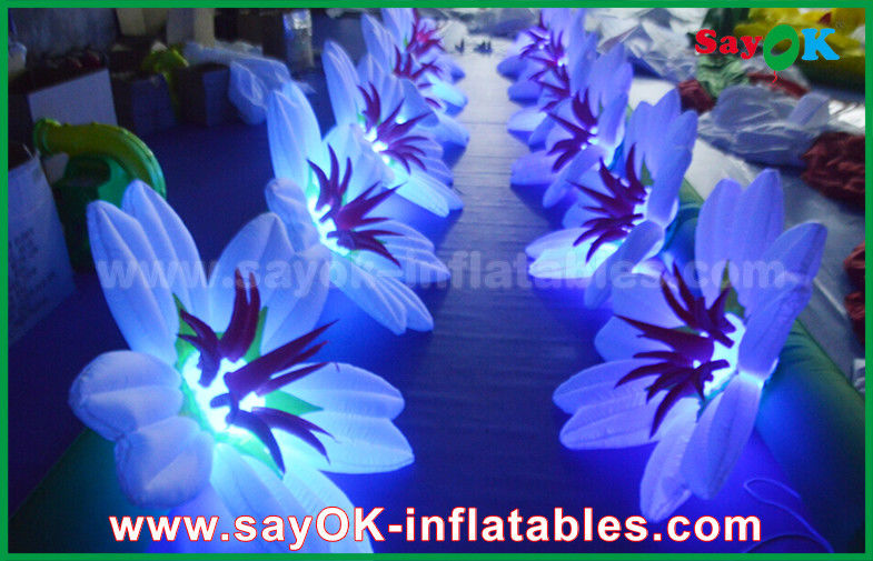 China Inflatable Flower Chain Decoration Wedding Stage Light Supplier