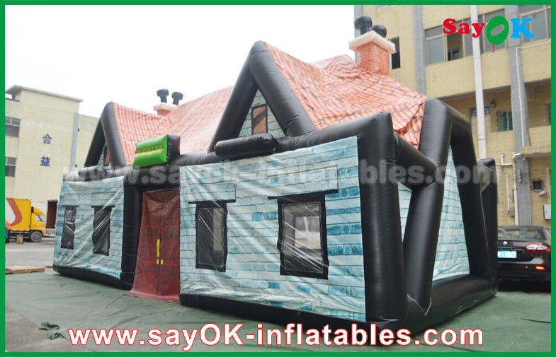 China Giant 0.55mm PVC Inflatable Air Tent Inflatable House Tent Log Cabin Waterproof supplier & Giant 0.55mm PVC Inflatable Air Tent Inflatable House Tent Log Cabin ...