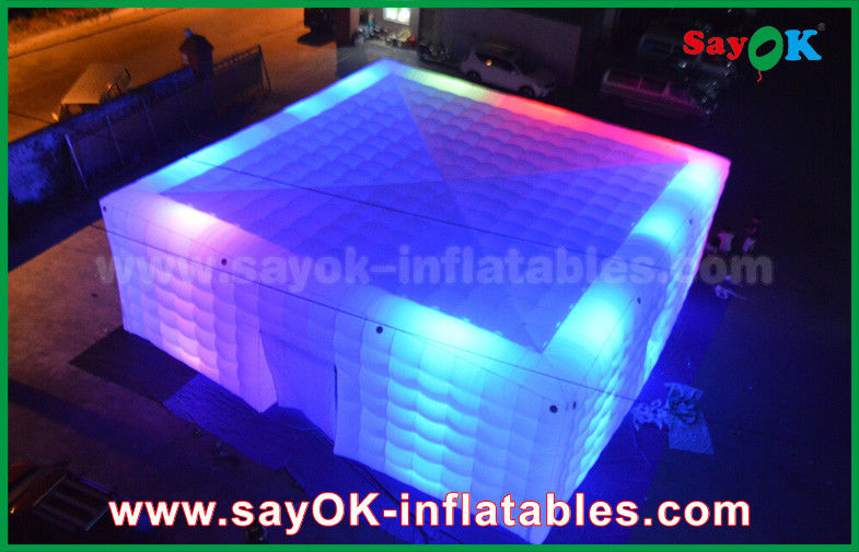 Giant White 210 D Oxford Inflatable Air Tent With Led