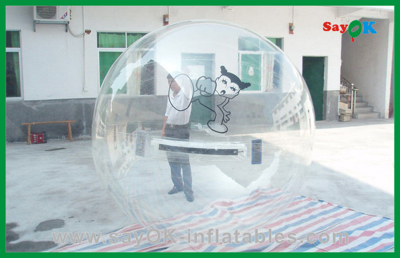 Promenade gonflable transparente de jouets de l 39 eau de jeu - Boule gonflable transparente ...