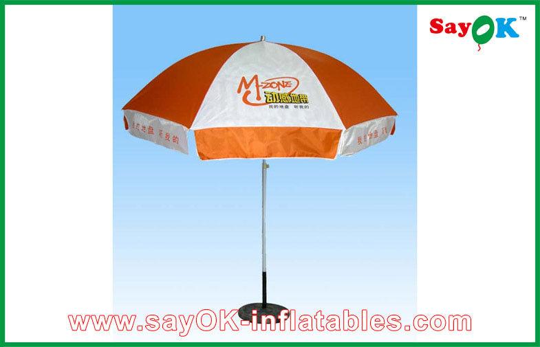 Advertising Polyester Sunshade Umbrella Summer Round Sun Garden Parasol