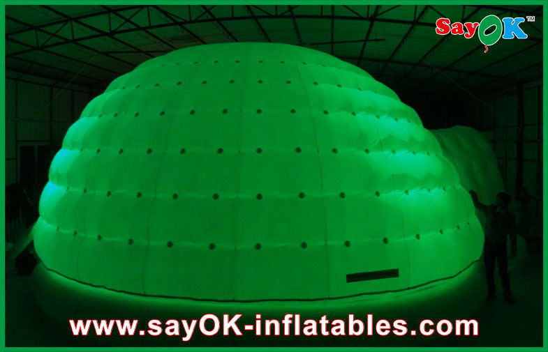 China Outdoor Inflatable Dome LED Tent Custom Family C&ing Bubble Tent supplier & Outdoor Inflatable Dome LED Tent Custom Family Camping Bubble Tent