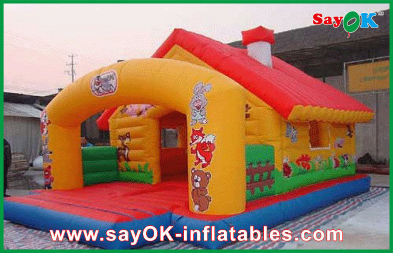China Little Tikes Bouncy Castle Jumpy Inflatable Fun House For Aqua Park  Amusement Supplier