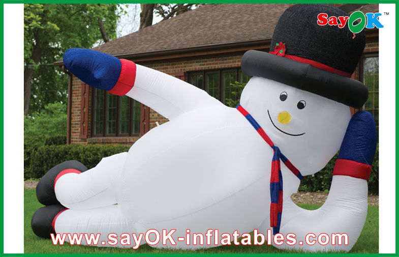Giant Christmas Inflatable Decoration Snowman Inflatable Holiday ...