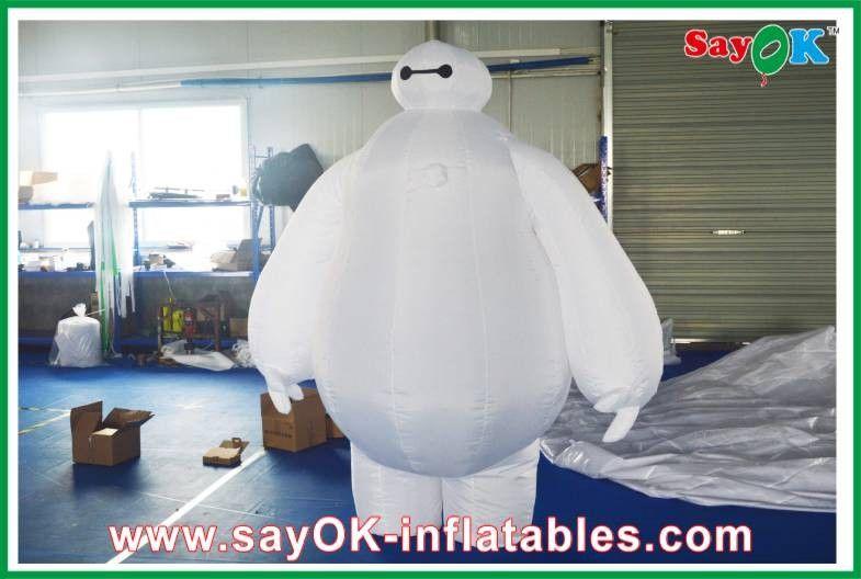 Big hero 6 inflatable cartoon characters height 2.6m inflatable