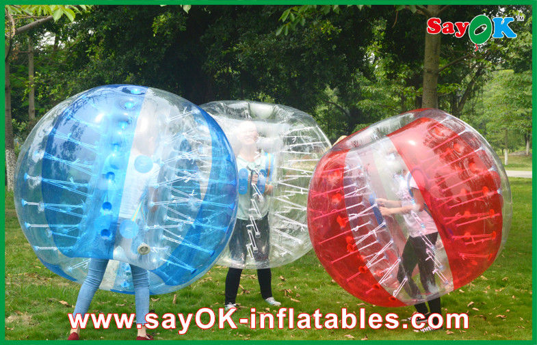 1.5M TPU Inflatable Bumper Ball For Football Crazy Game Family Ball Games!
