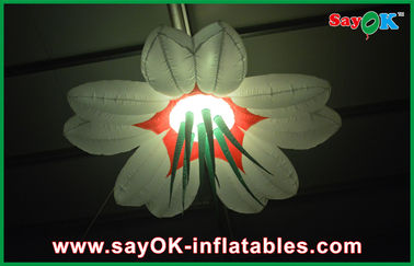 Oxford Cloth Led Giant Inflatable Lighting Decoration 2m / 2.5m