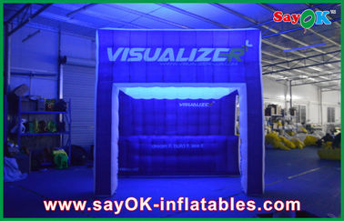 Rainbow Lighting Inflatable Air Tent Show Inflatable Camping Tent