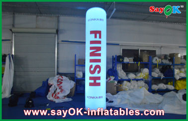Nylon Cloth Outdoor Inflatable Decorations With CE / UL Blower