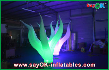 Led Durable Inflatable Lighting Decoration 3m Attractive On Floor