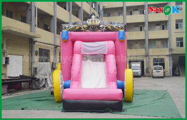China 6 X 4m Commercial Childrens Bouncy Castle Hire Blow Up Bounce House factory