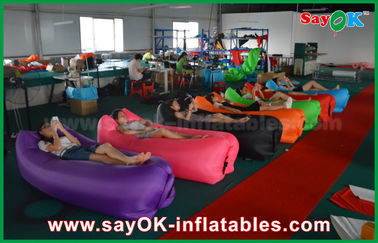 Customized Shape Sleeping Air Bag / Inflatable Air Bag 200 cm * 90 cm CE Approval