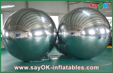 China Large Inflatable PVC Mirror Ball Customized Size For Event Decoration factory