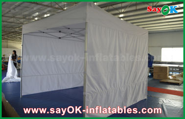 China Portable Custom Outdoor Silk Screen Printing Advertising Folding Steel Frame Tent factory