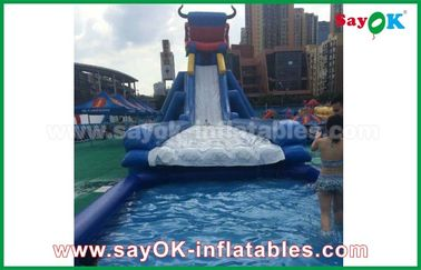 Giant Inflatable Bull / Elephant Cartoon Bouncer Slide for Adults and Kids