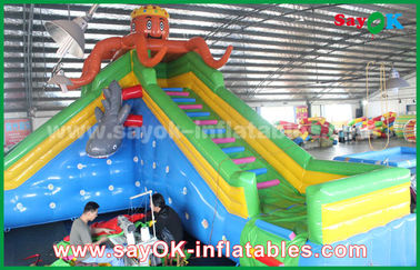 Giant Safety Inflatable Bouncer for Amusement park , inflatable bounce castle