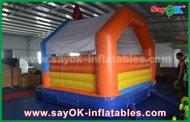 Baby air bouncer inflatable trampoline , happy hop bouncy castle