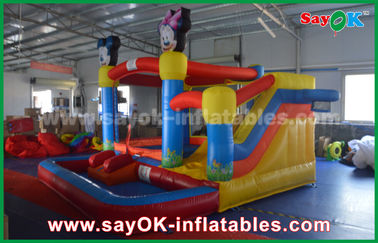 China Large spongebob inflatable bounce house for palying center CE UL factory
