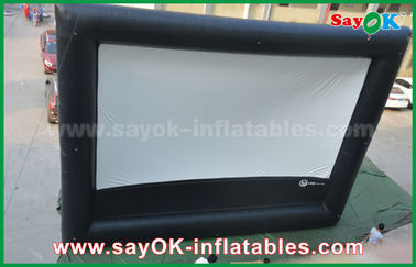Inflatable air cinema , Outdoor Giant Inflatable Movie Screen for Advertising / Amusement